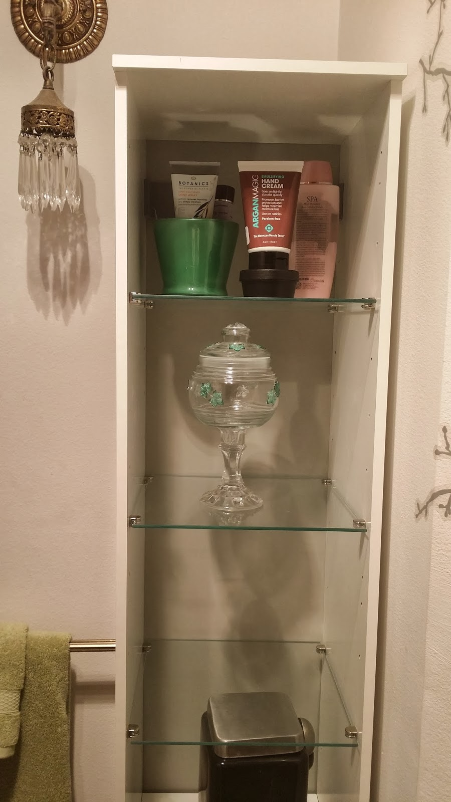 fullen bathroom cabinet aim to create part three quot do it myself monday quot room 15671