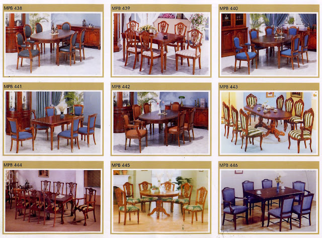 kursi makan set