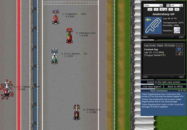 Grand Prix Racing Online Español