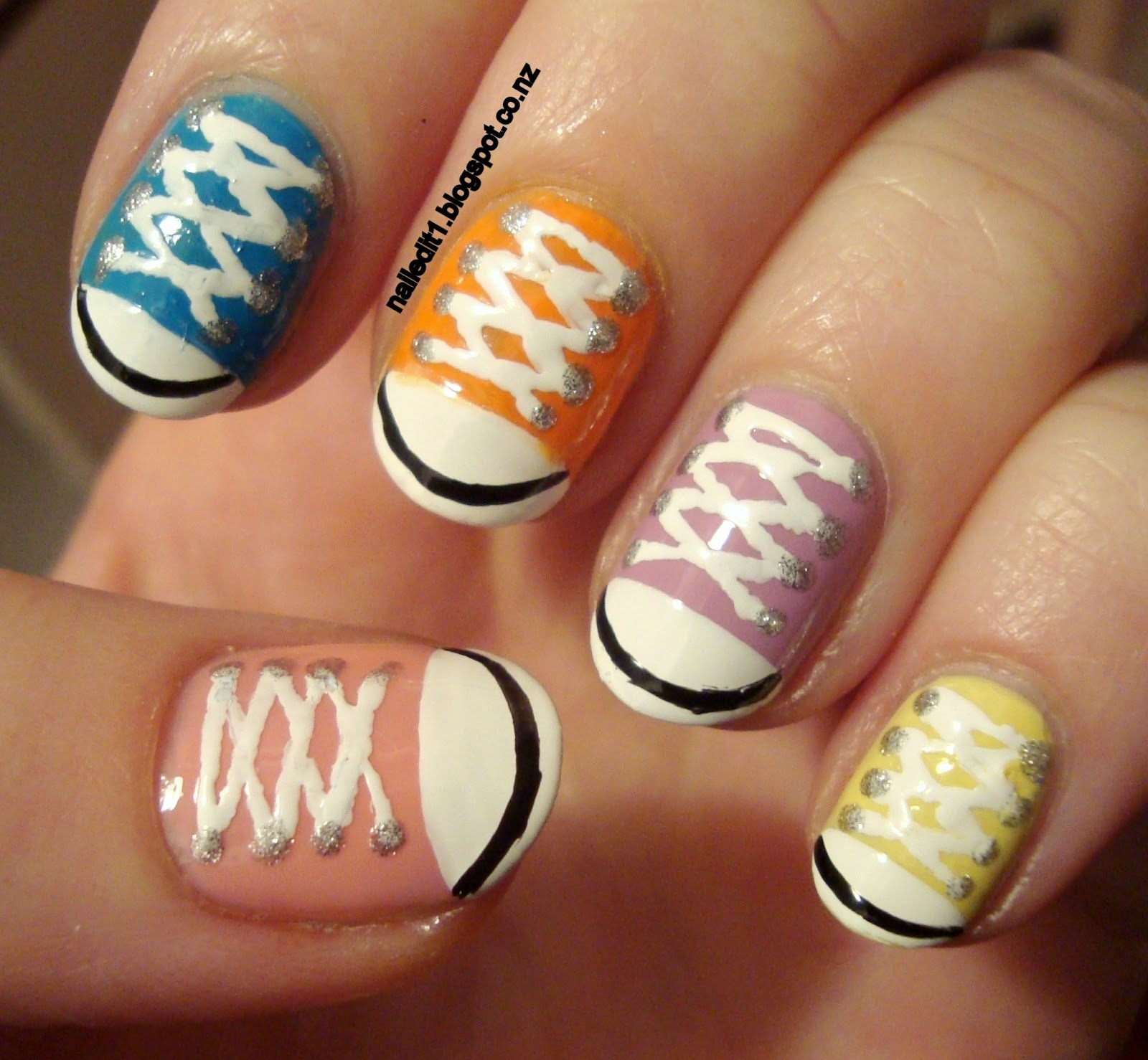 Adorable Nail Art: Nail Art For Short Nails #9