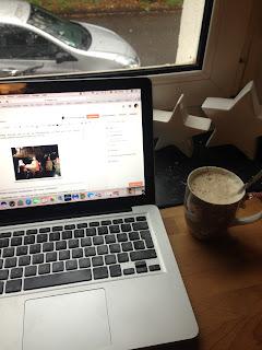 Der Blogeintrag Wochenrückblick wird bei Kaffee und Weihnachtsdeko geschrieben