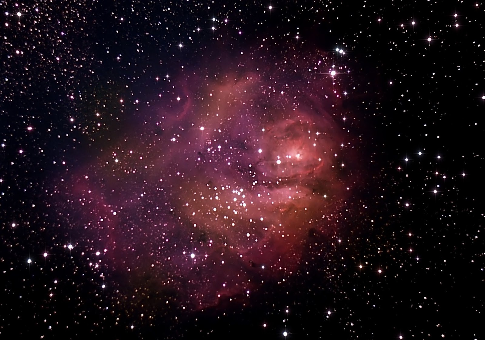 lagoon trifid nebula - photo #9