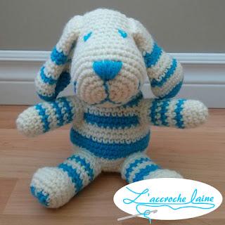 L'accroche laine - Petit chien