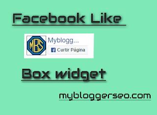 facebook widget blogger 2017 like box