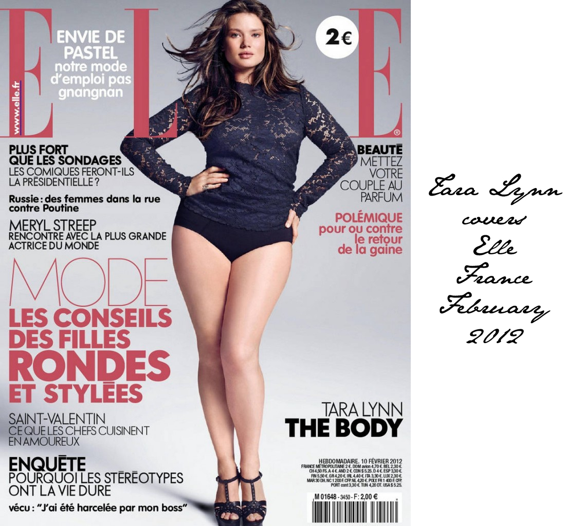 b3556bf92 Elle France uses a plus size model for their February cover