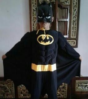 Jual Kostum Anak Superhero Batman