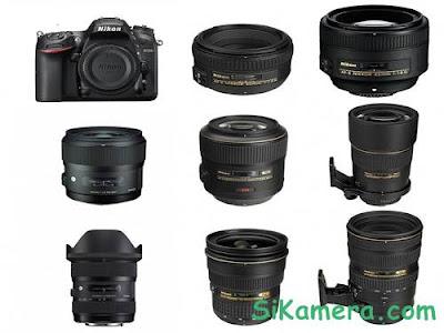 Harga Lensa Kamera Nikon