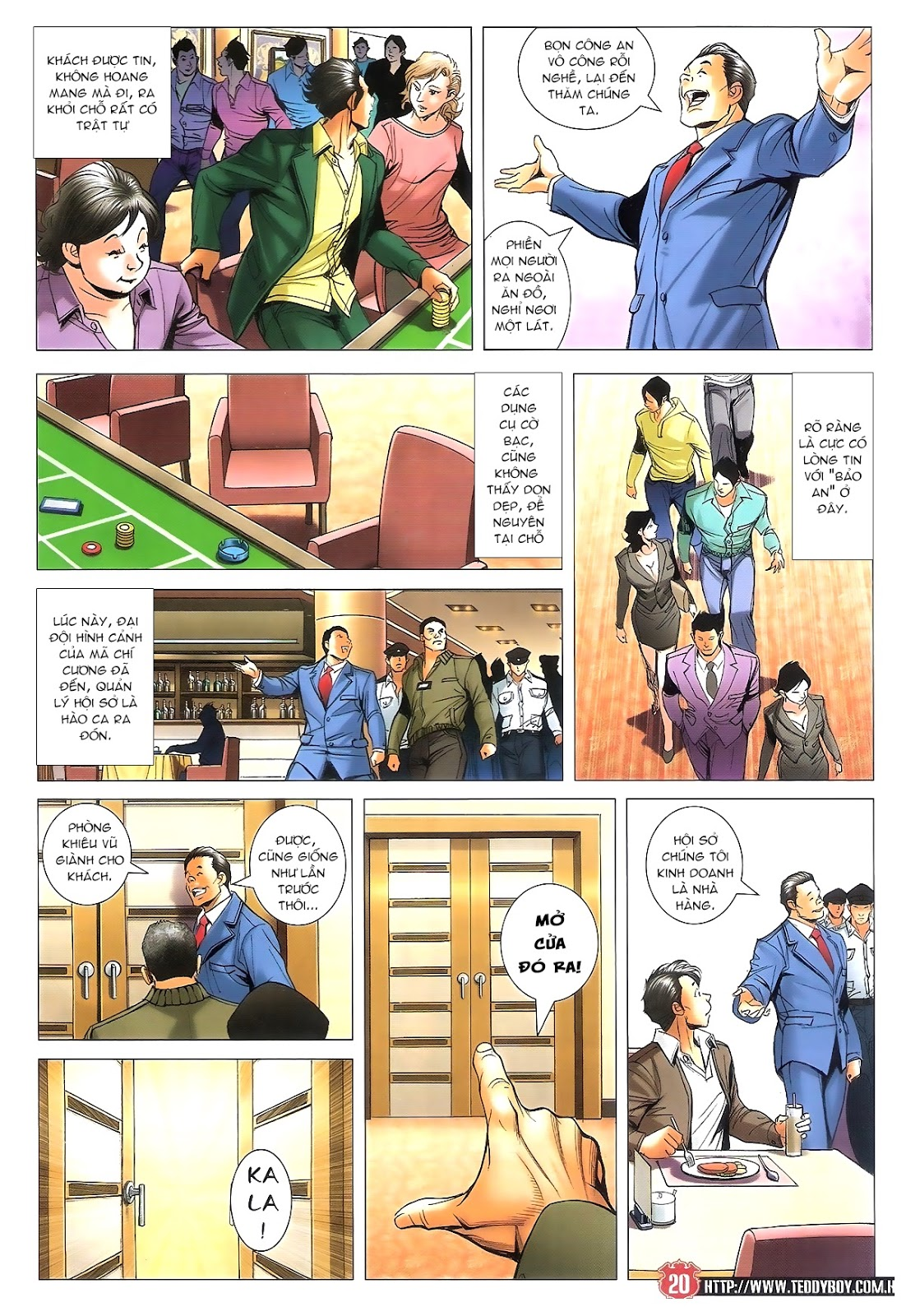 Người Trong Giang Hồ chapter 1696: giết vào vượng giác trang 19