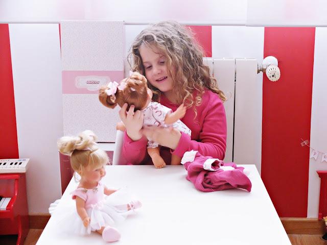 Muñecas clásicas Llorens - Blog Mama de Noa