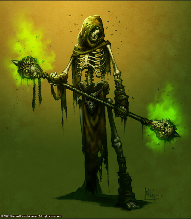 Tower Of The Archmage New Monster Skeletal Mage