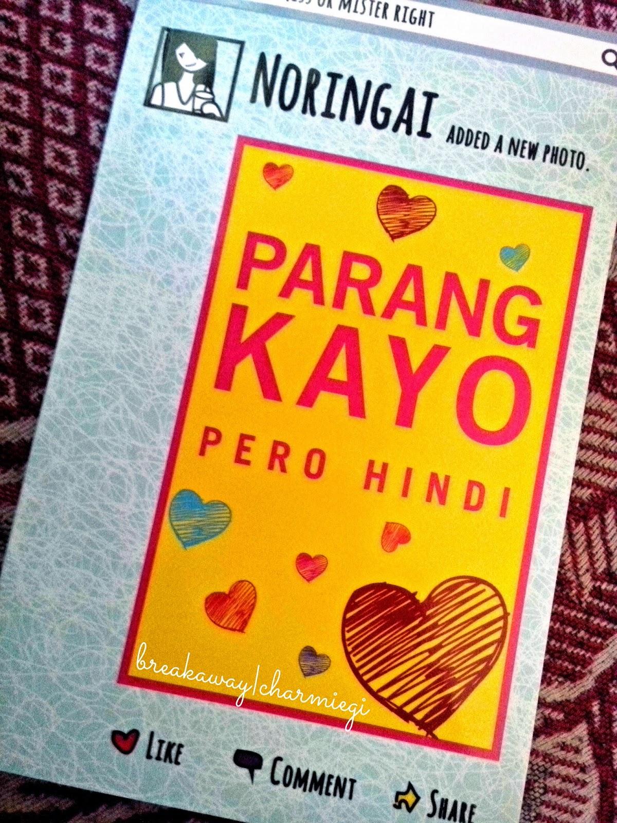 book pero hindi parang kayo
