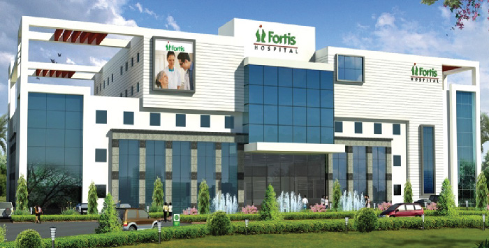 Fortis hospital branches in india