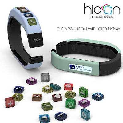 Hiconbangle Smart Wristband