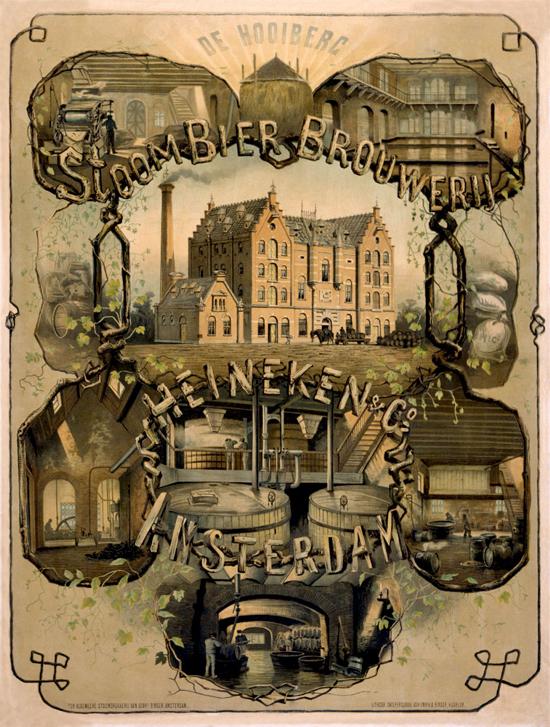 Heineken ad 1870s