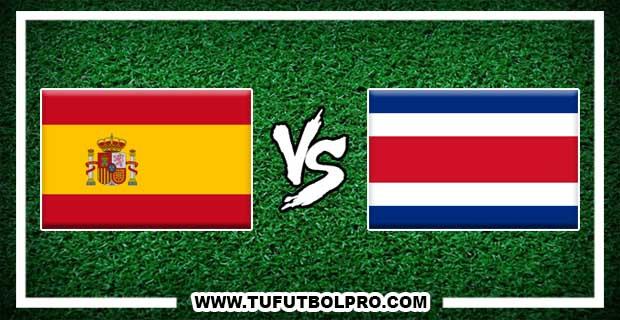 Ver España vs Costa Rica EN VIVO Por Internet Hoy 11 de Noviembre 2017