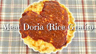 Meat Doria (Rice Gratin)