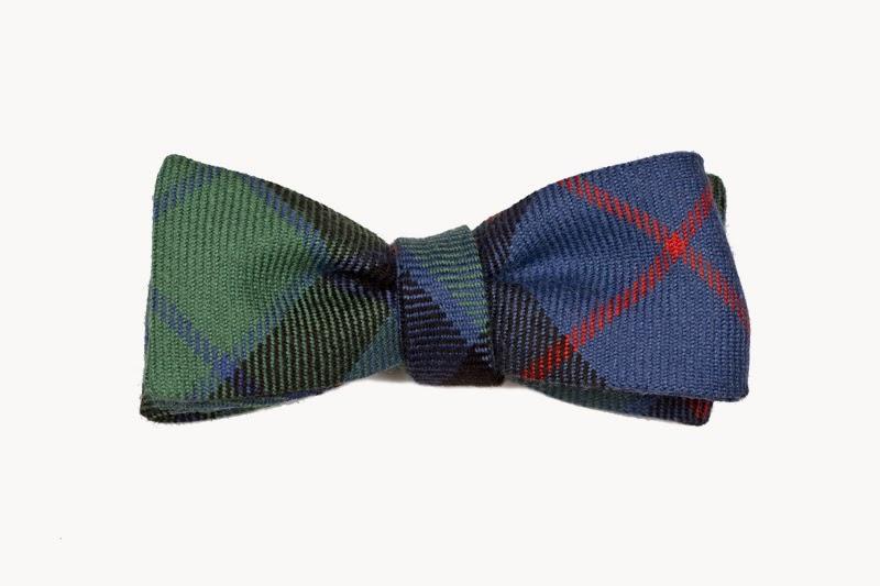 Robinson & Dapper - Wool Bow Tie