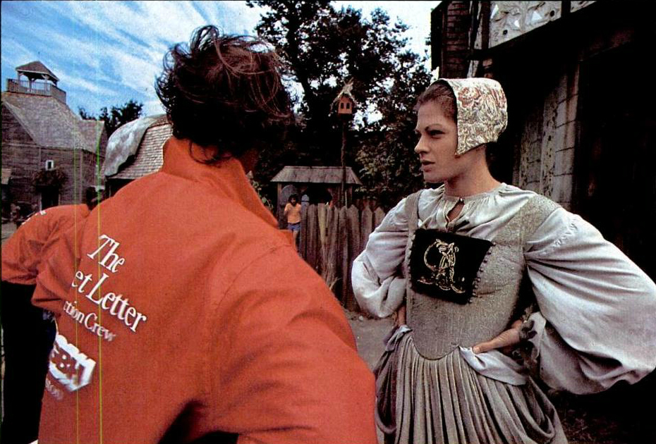 Some photos publicity pics of Meg Foster in The Scarlet Letter :