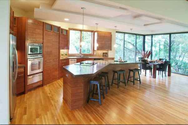 This Comfortable Modern Kitchen Design Layout Read Article
