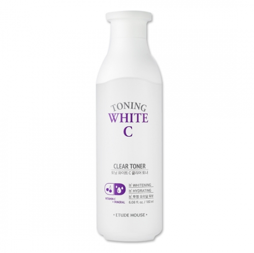Toning White C Clear Toner