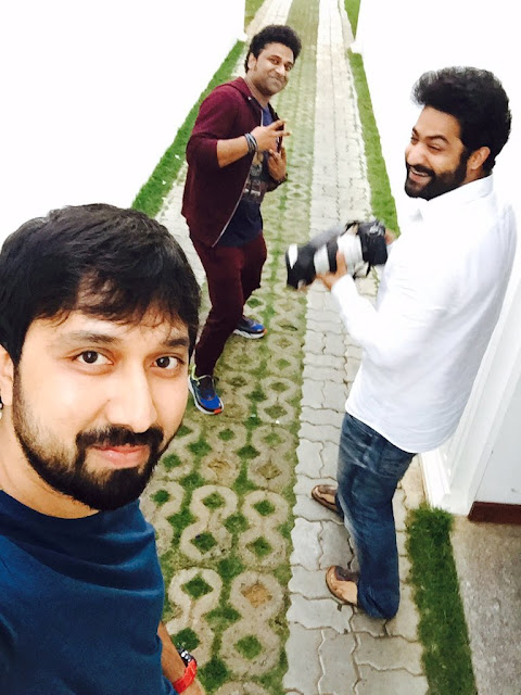 Jr NTR New Movie Working Stills
