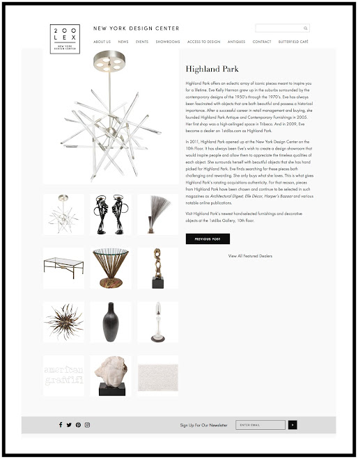 Highland Park: Featured Dealer 1stdibs® Gallery at 200 Lex