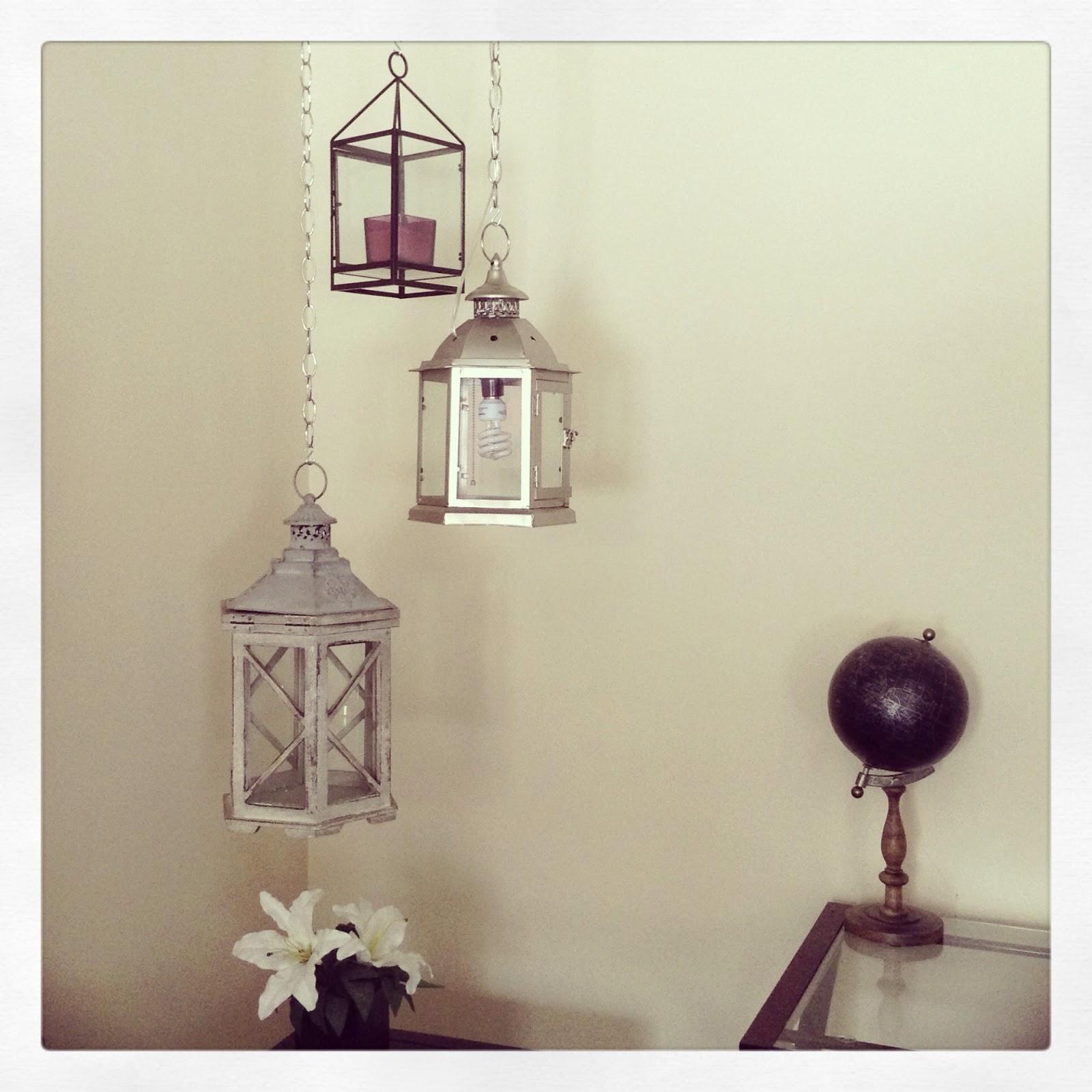 M4rilynJ0y: DIY Hanging Pendant Lamp!