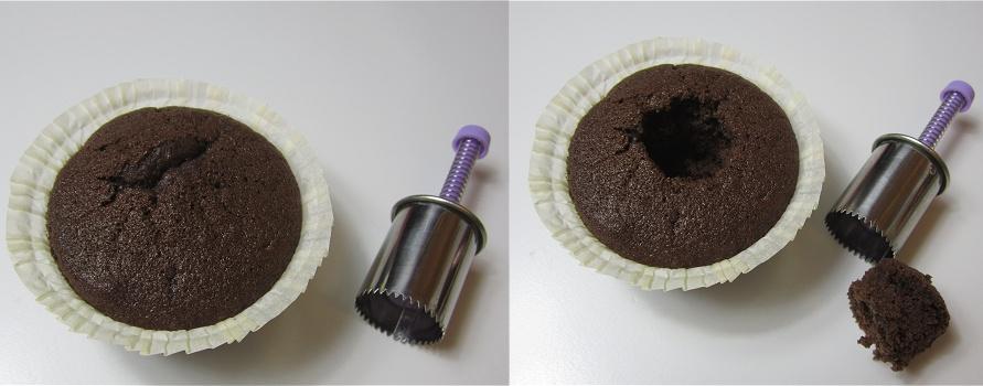 Schwarzwälder-Kirsch-Cupcakes