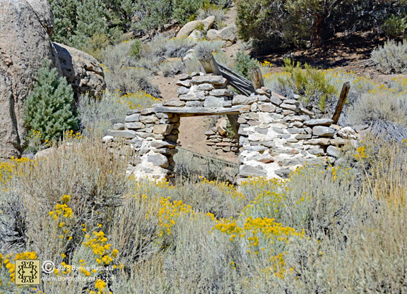 Stone building, Masonic Ghost Town
