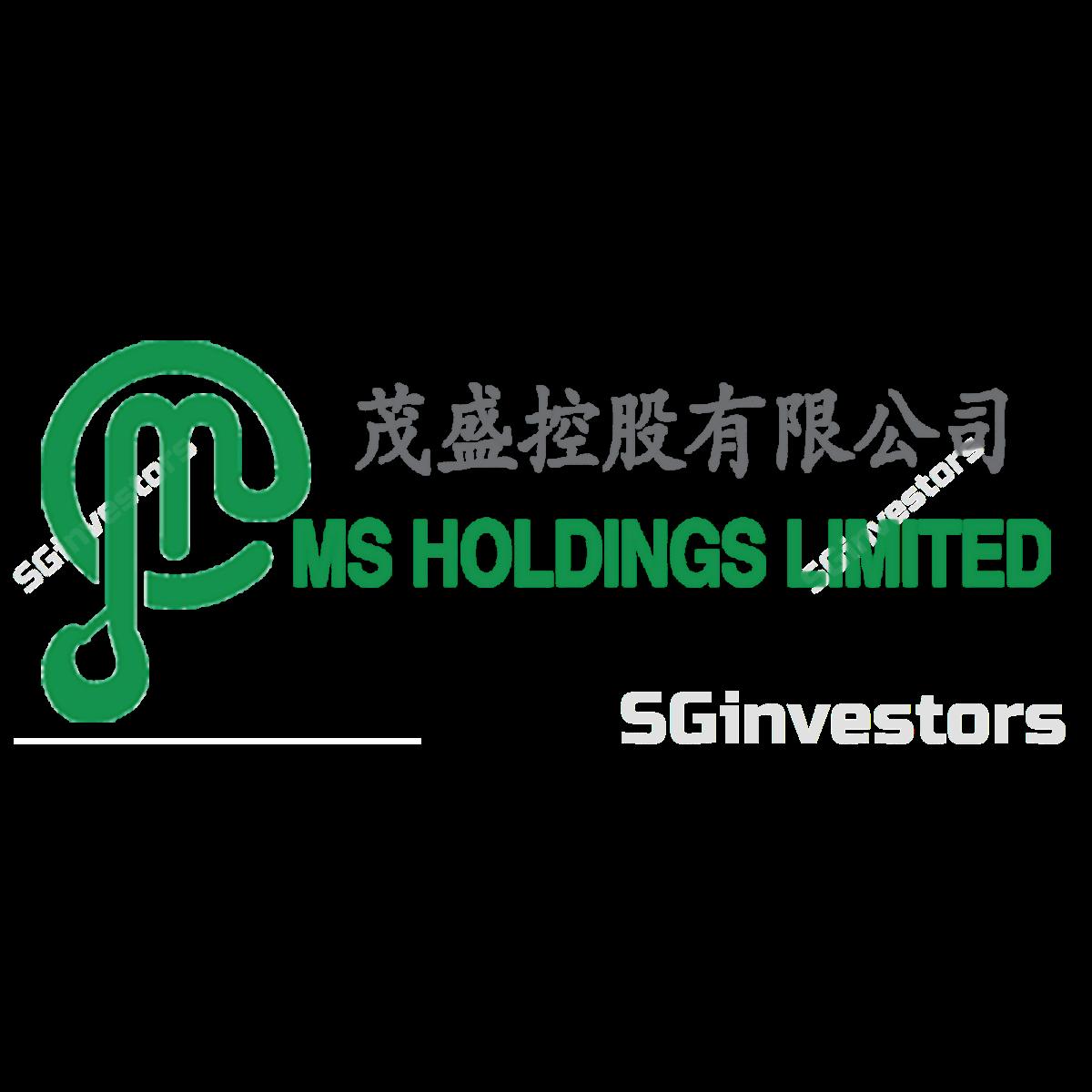 MS HOLDINGS LIMITED (SGX:40U) @ SGinvestors.io