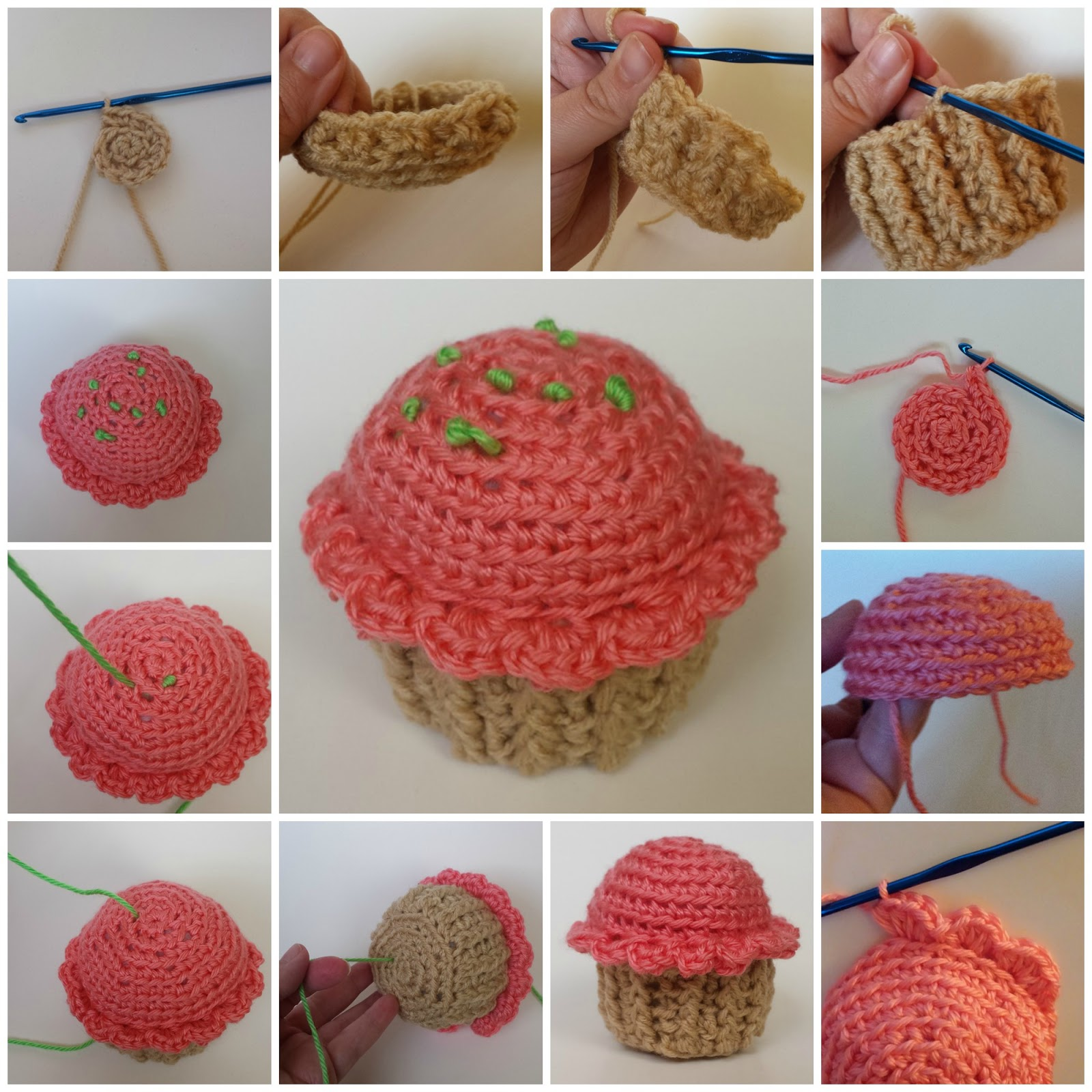 Cutie Cupcake Crochet Pattern Work Up and Review