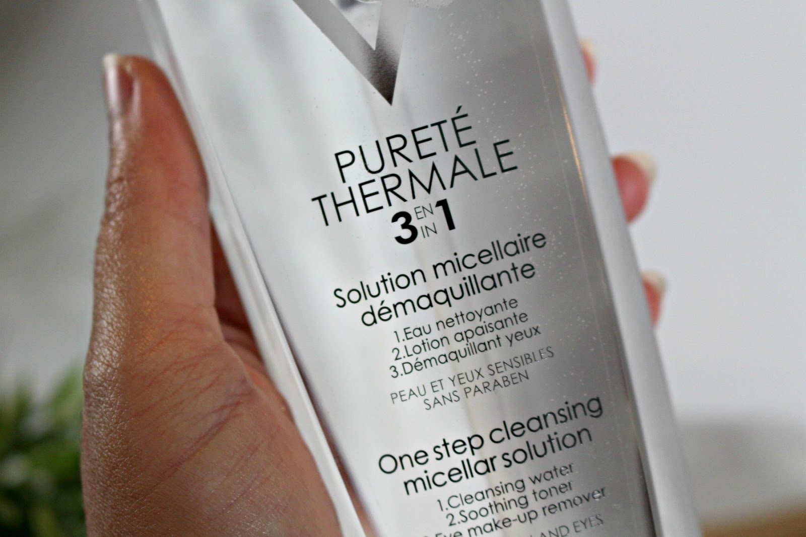 Vichy Purité Thermale micellair water