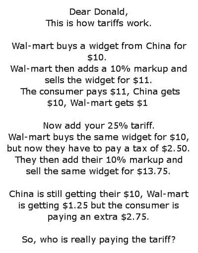 Image result for who pays for tariffs