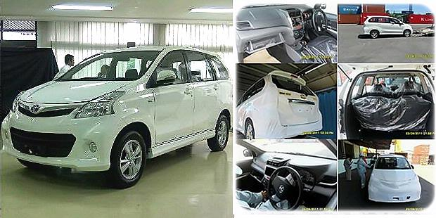 Radiator Grand New Avanza Over Kredit 2016 Malaysia Motoring News Toyota 2012 Detail Spyshots Of The Dark Blue Model Below Have A Chrome Bar In Middle Grille Whereas White