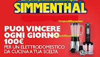 Logo Con Simmenthal vinci 84 buoni acquisto da 100€ per un elettrodomestico da cucina