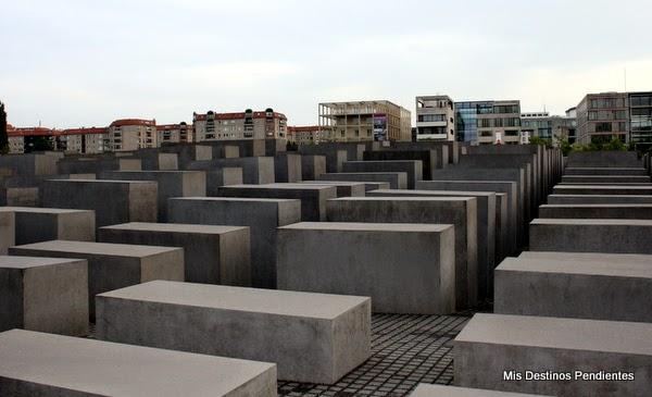 Monumento a los Judíos Asesinados en Europa de Berlín