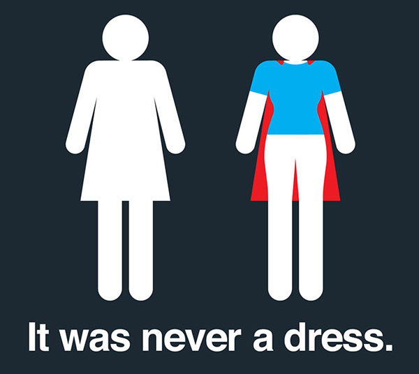 Tania Katan Has Created A New Fun Campaign That Will Change The Way You See Women's Bathroom-signs Forever