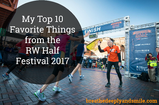 10 Favorite Things from the Runner's World Half Festival 2017