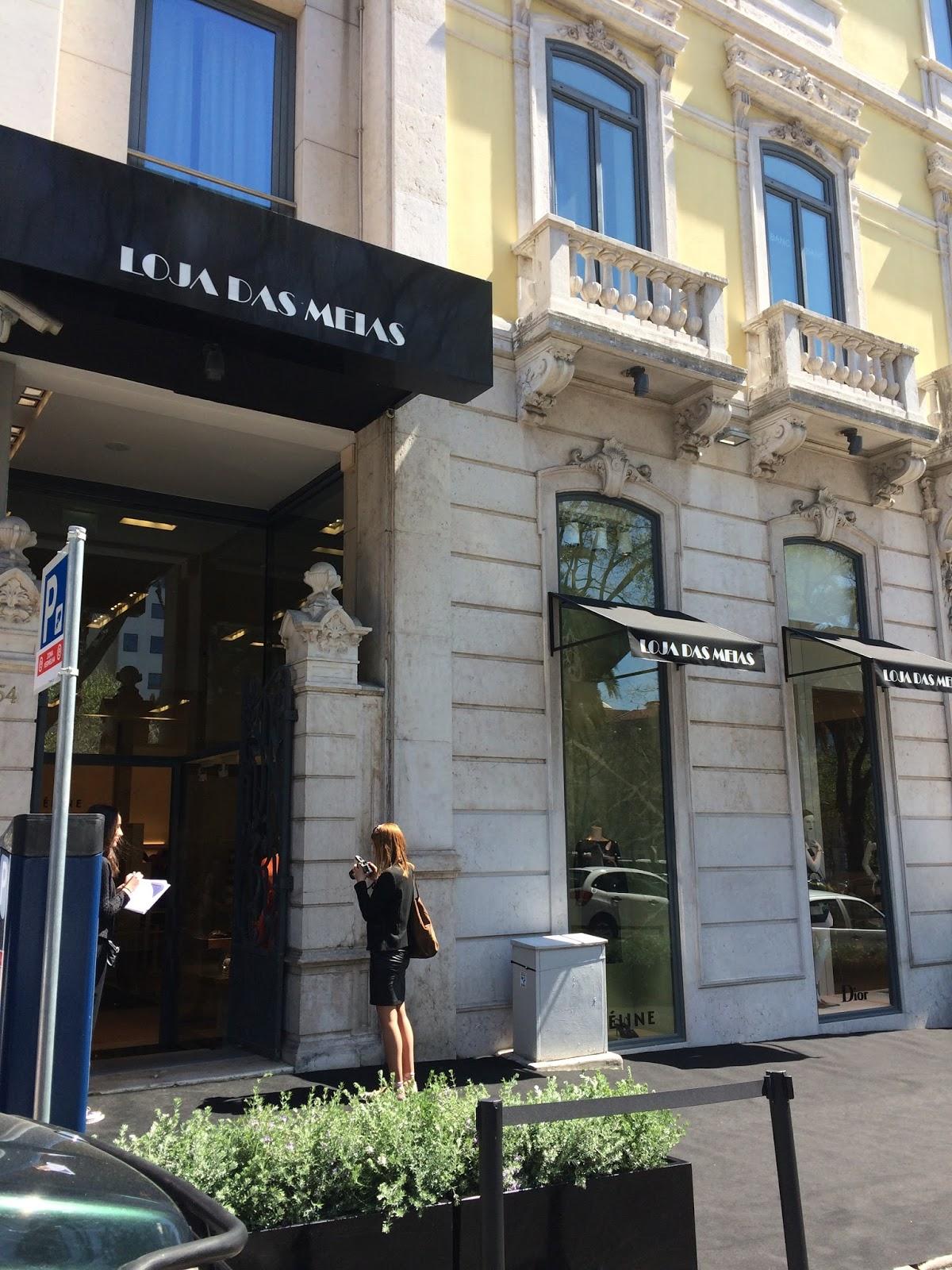 """a2395bac2ec11 Loja das Meias inaugura nova loja na Avenida da Liberdade com """"shop in  shop"""" Dior e Céline"""