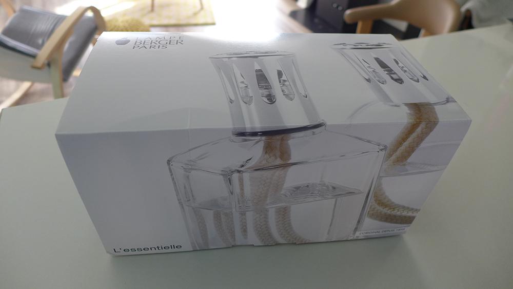 le coffret, test et utilisation de la lampe berger, le purificateur d'air