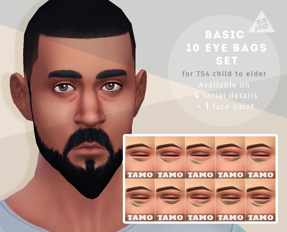 Basic 10 Eye Bags Set for All - TAMO