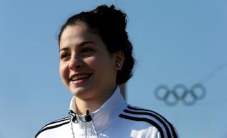 Nadadora síria refugiada