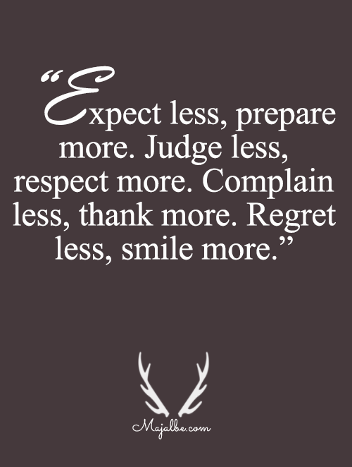 Less Is More Love Quotes