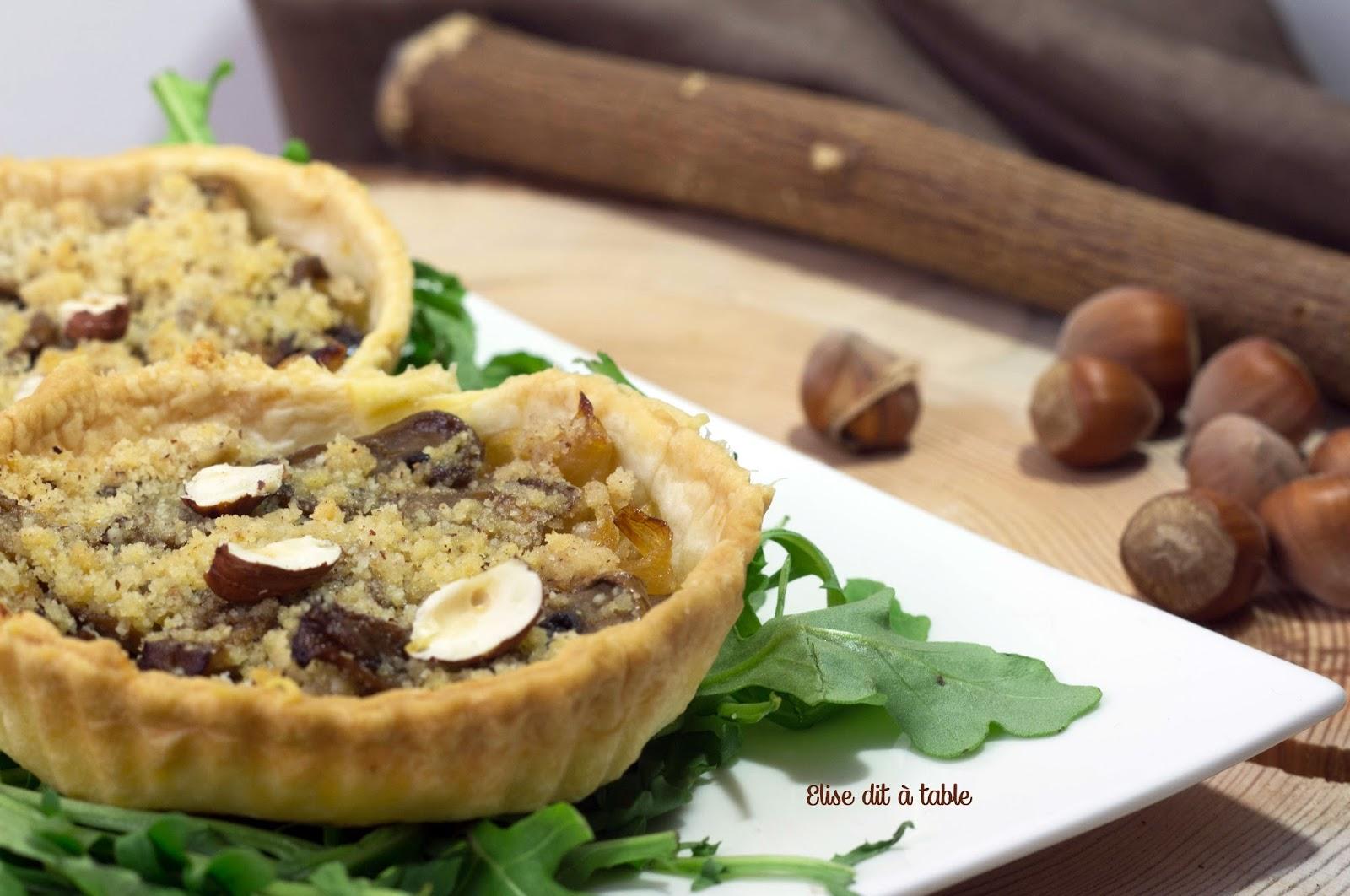 recette Tartelettes parmesan noisette