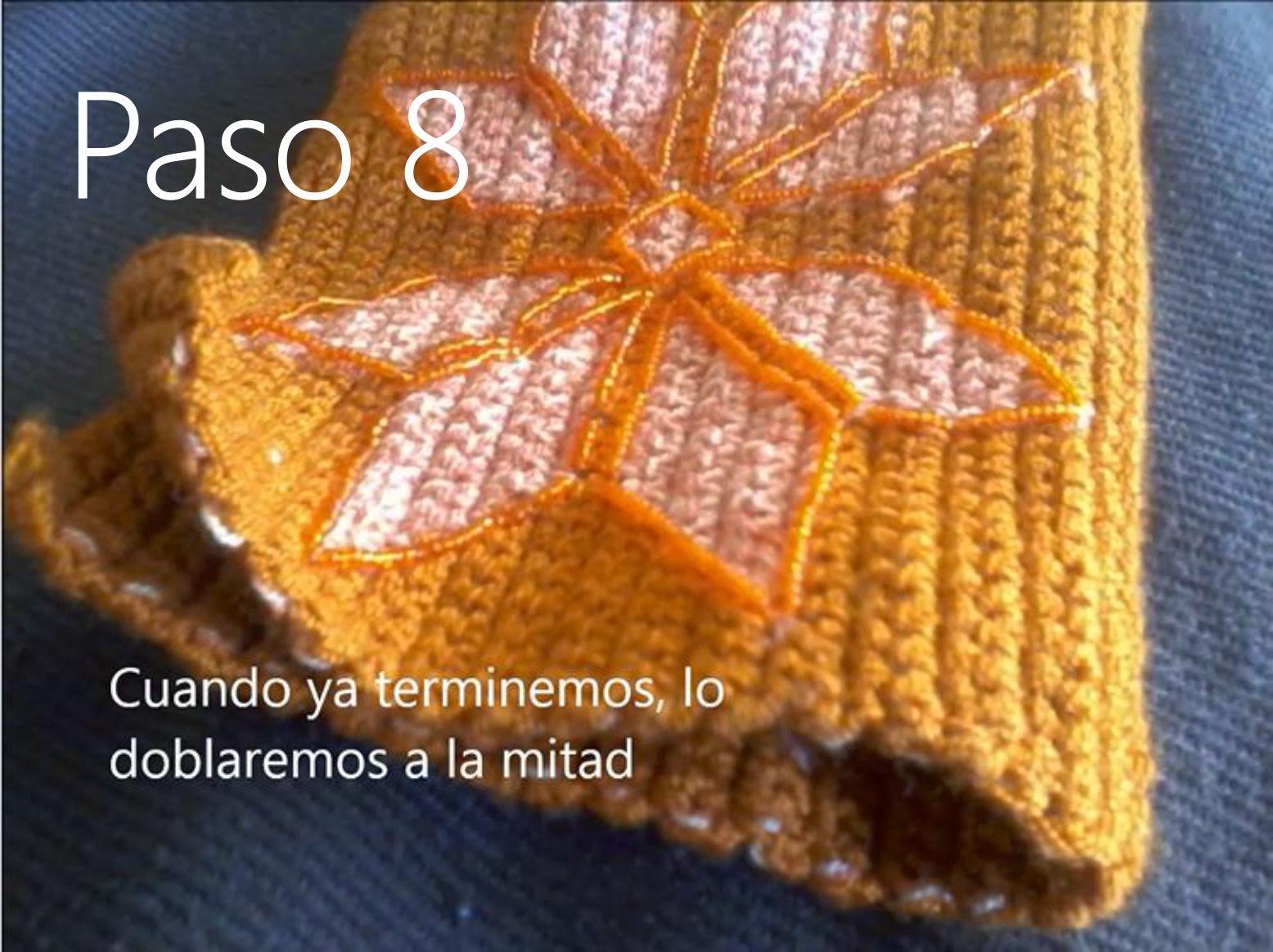 Bolso Naranja Paso 8