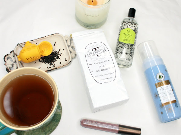 5 Things I've Been Loving Lately: fig body mist, a heavenly face wash, tea and more