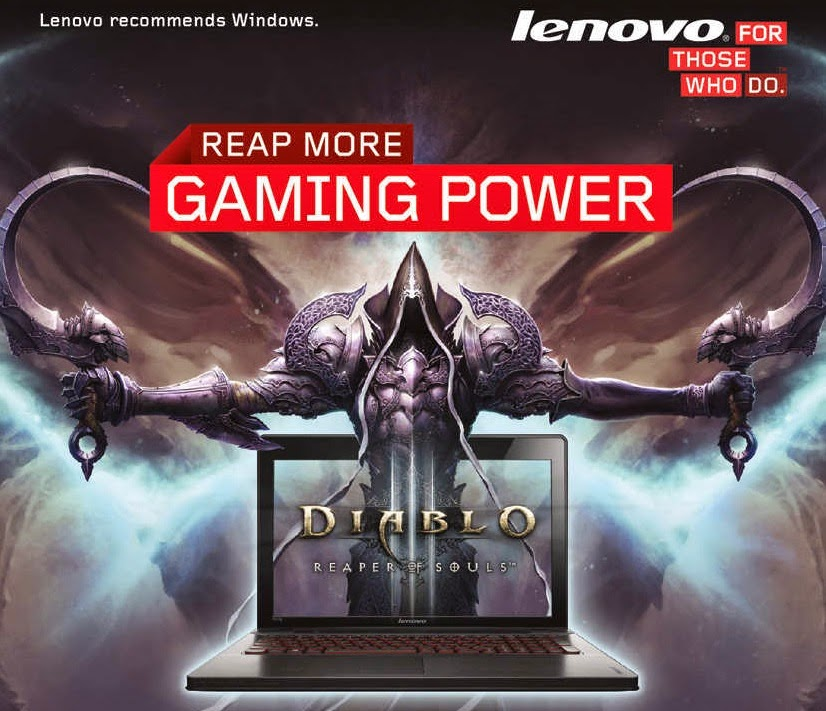 Lenovo Gives Gamers Enduring Power to Reap More Fun