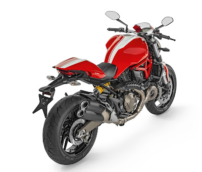 Ducati Monster 821 Rear view image