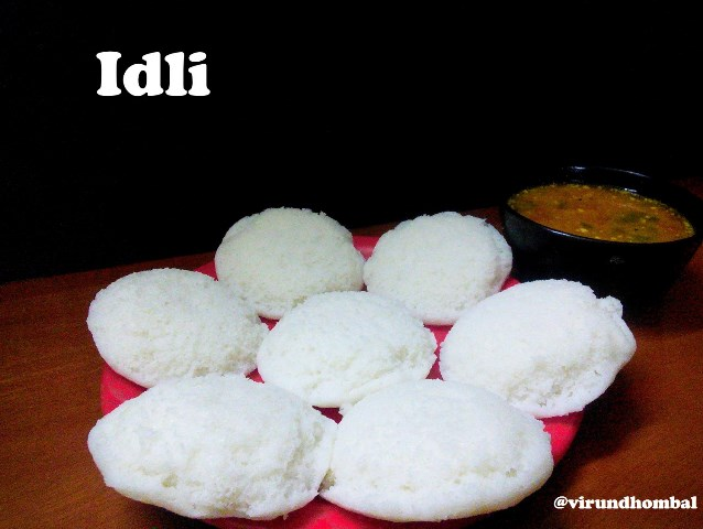Idli & Batter for Idli and Dosa recipe | How to prepare Idli | Batter for Idli and Dosa - virundhombal