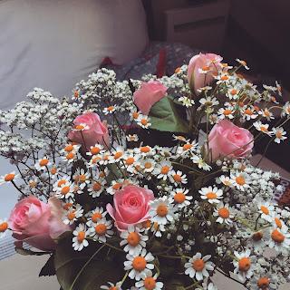 Roses marguerites